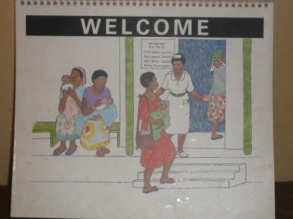 לקראת לידה באוגנדה – תמונות ממחישות ליולדת